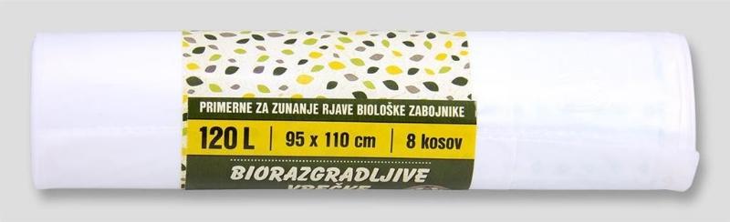 Vreča biorazg. 120L 8/1