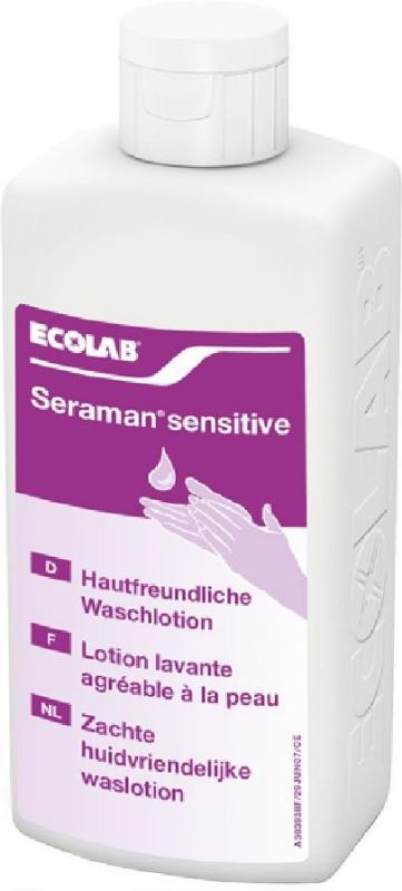 Seraman Sensitive 0,5L-nežen losjon za umivanje