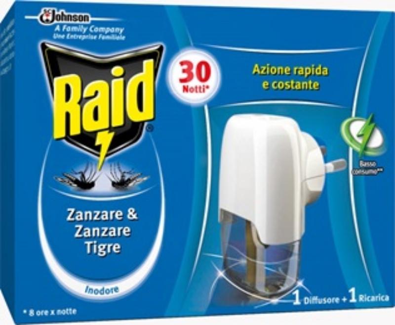 Raid proti insektom -el.aparat