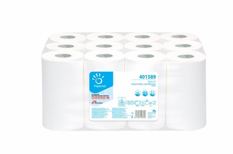 Brisače kuhinjske 21,4cm 2-sl, 67m,12/1 Ecolabel Papernet