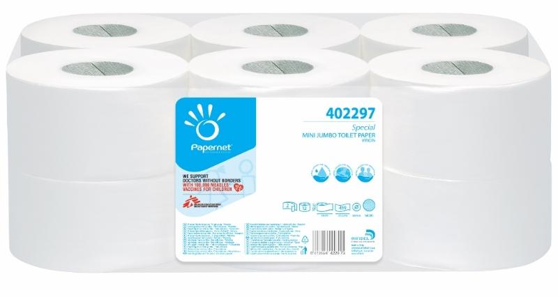 WC papir Mini Jumbo 2-sl. 12/1 Ecolabel