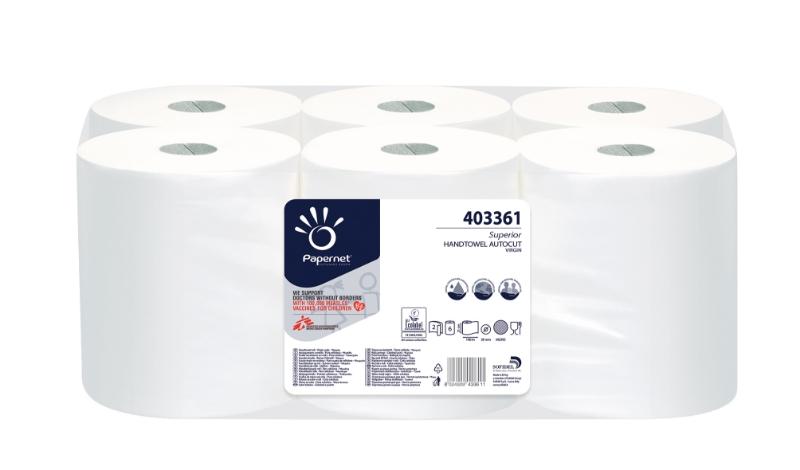 Brisače Superior Autocut 2-sl 140m 6/1 Ecolabel