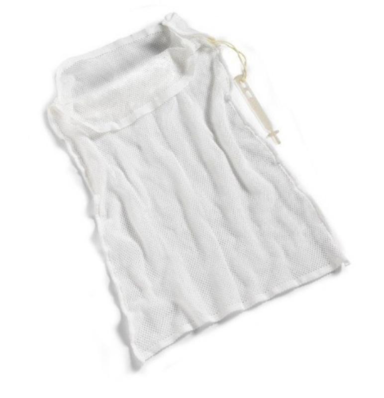 Vreča za pranje 50L-rdeča 50x70cm