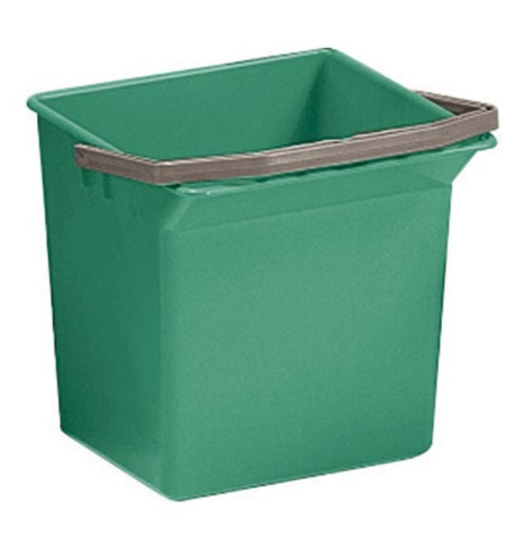 Vedro oglato 6L zeleno