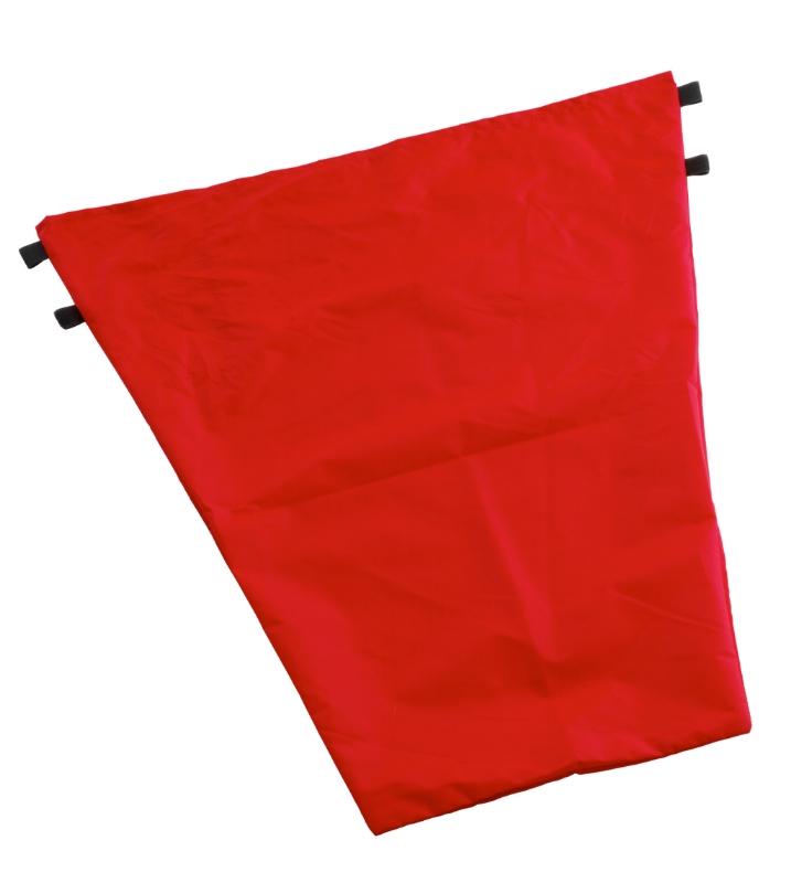 Vreča platnena 50L za voziček Nick - rdeča