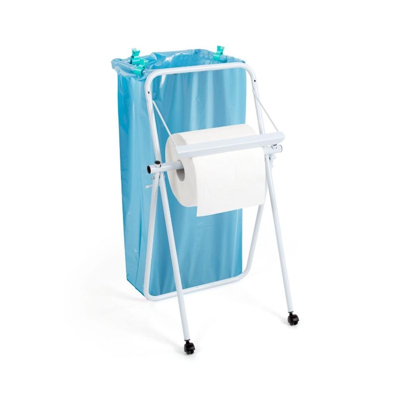 Podaj.brisač Jumbo-na kolesih z nosilcem vreče