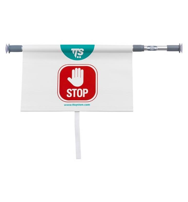 Opozorilni znak STOP teleskopski