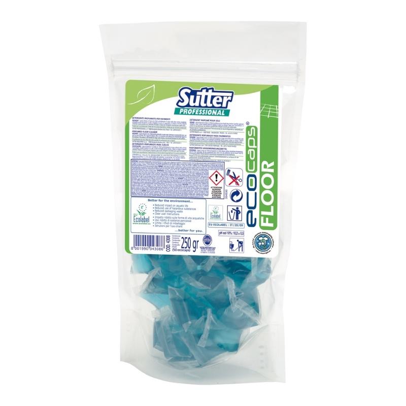Sutter Floor Ecocaps Ecolabel 50x5ml čistilo za tla