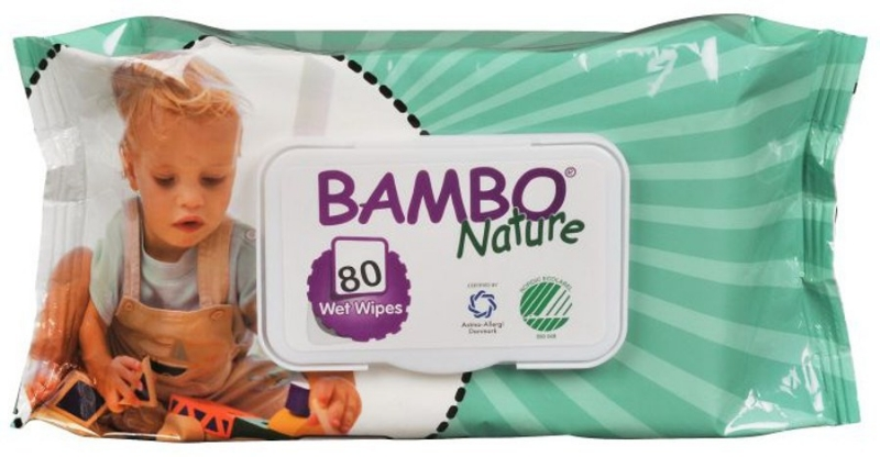 Robci vlažilni Bambo Wet Wipes 80/1