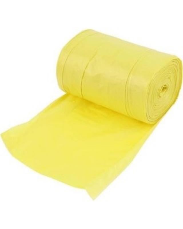 Vrečka za smeti LD 150L rumena 20/1
