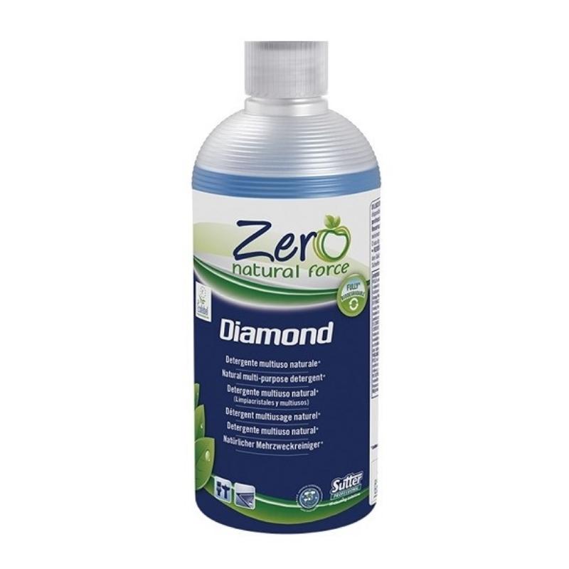 Čistilo za stekla ZERO Diamond ECOLABEL 500ml, Sutter