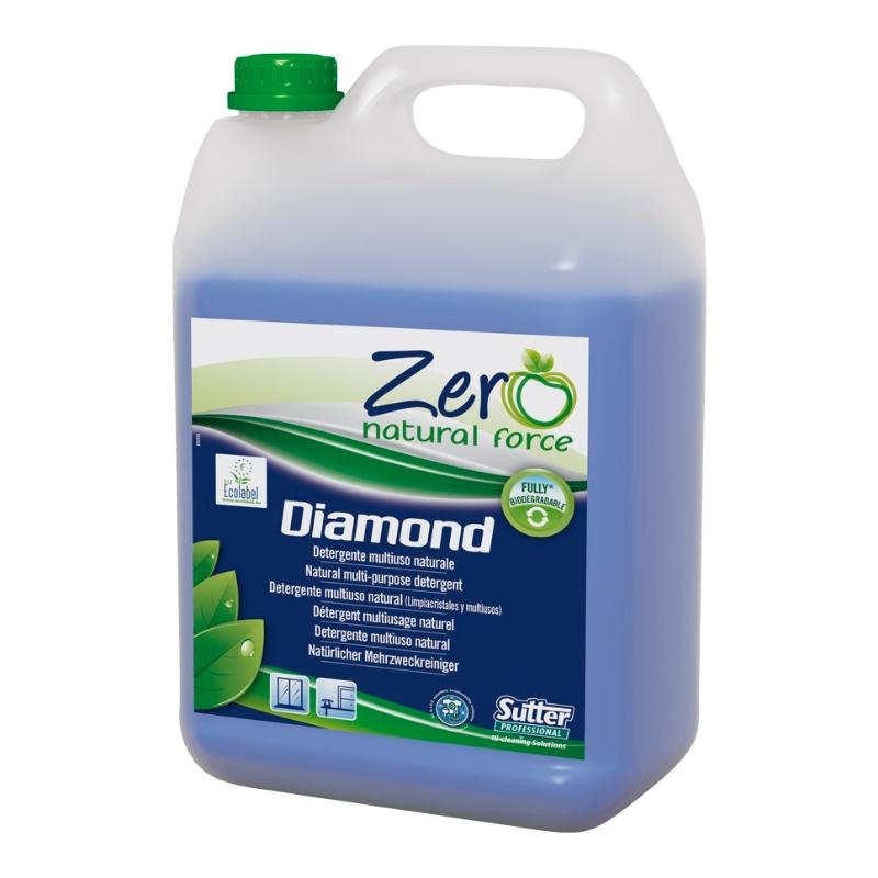 Čistilo za stekla ZERO Diamond ECOLABEL 5L Sutter