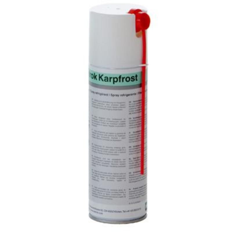 Sprej za zamrzovanje in odstranjevanje žvečilnih gumijev Karpofrost 180g WETROK