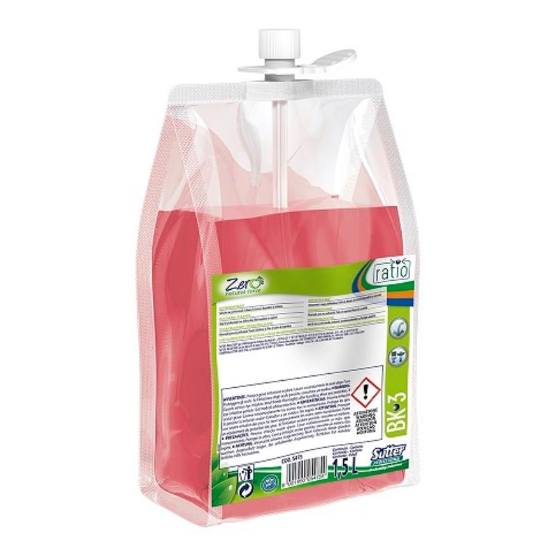 Čistilo za sanitarije Ratio BK-3 1,5 L, Sutter