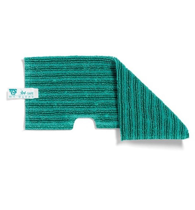 Mikro krpa za čiščenje tal Tri-Safe Trilogy, dim. 46x19,50 cm, zelena TTS