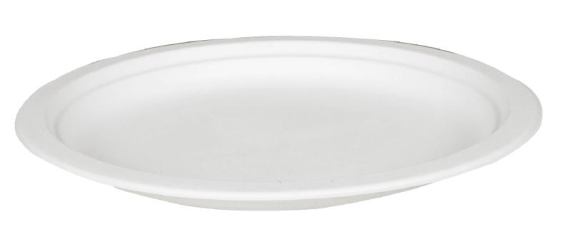 Krožnik iz sladkornega trsa BIO, 23 cm, ABENA