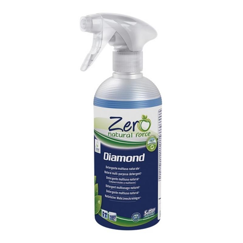 Čistilo za stekla in zgornje površine ZERO Diamond 500 ml z razpršilko, SUTTER