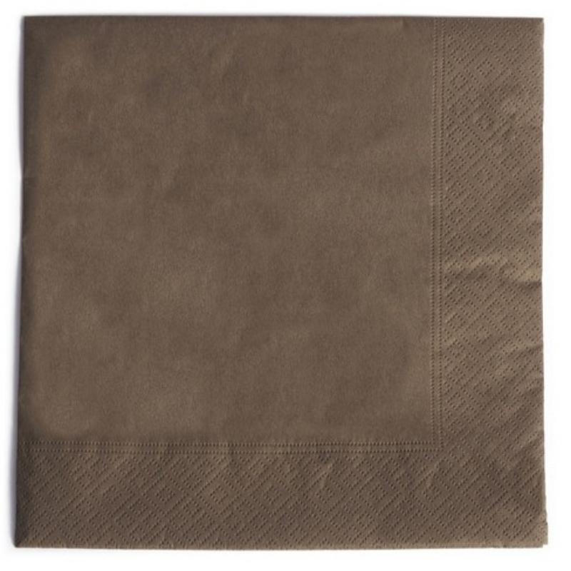 Serviete, 33x33cm, 48x50/1, 2-slojne, bele, Seti