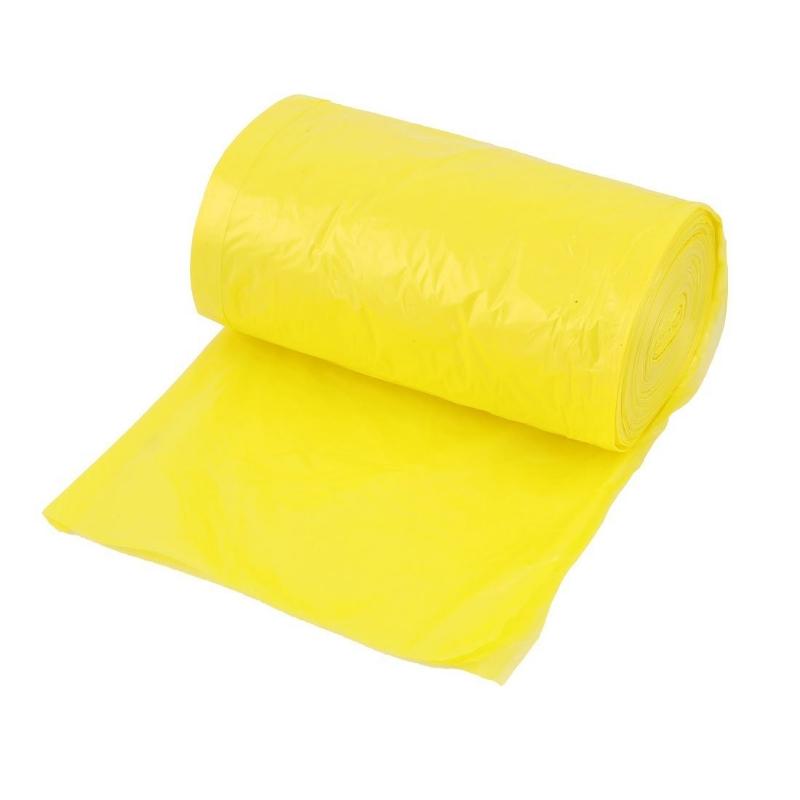 Vrečka za smeti HD 60L rumena 20/1