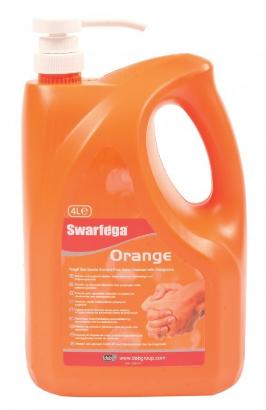 Industrijsko milo Swarfega Orange 450 ml, Deb-Stoko