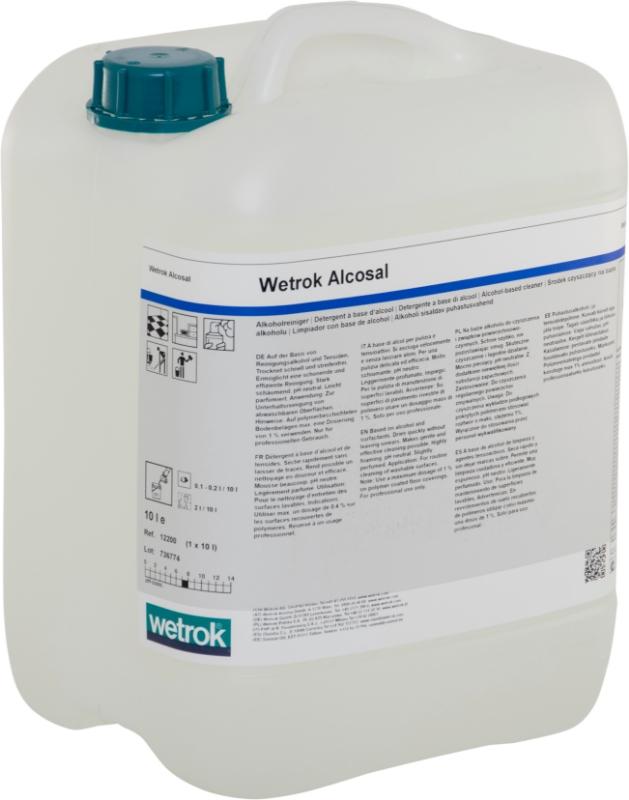 Čistilo za čiščenje površin Alcosal, WETROK