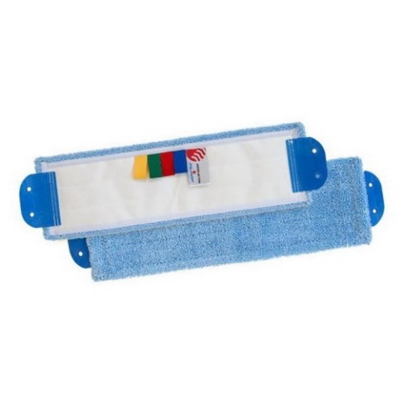Krpa 40 za vpet 2 luknji mikro modra FILMOP/TTS