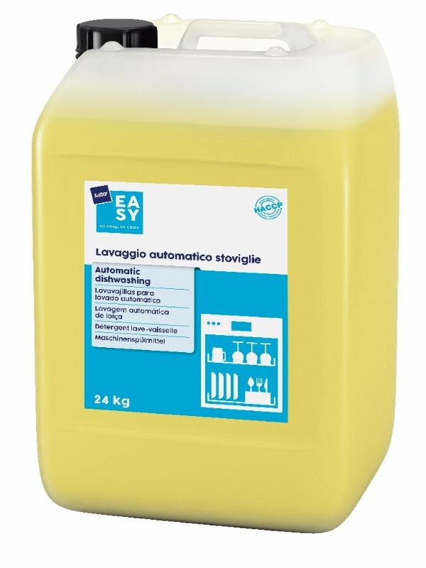 Detergent za strojno pomivanje posode Automatic Dishwashing 24kg, Sutter EASY