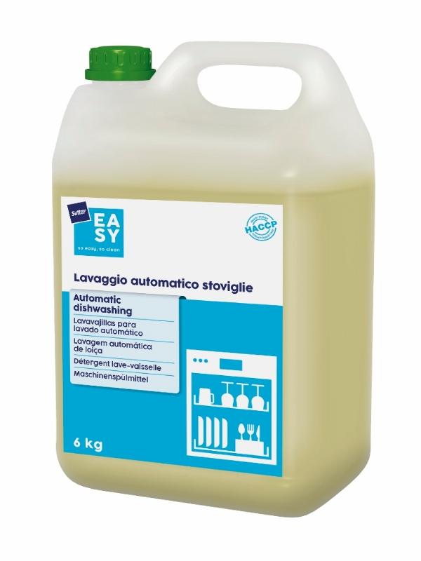 Detergent za strojno pomivanje posode Automatic Dishwashing 6kg, Sutter EASY