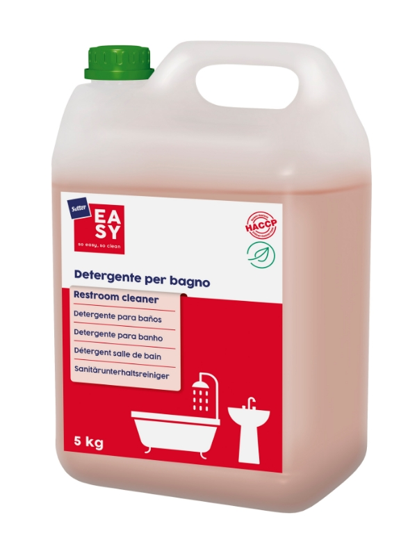 Čistilo za sanitarije Restroom Cleaner 5kg, Sutter EASY