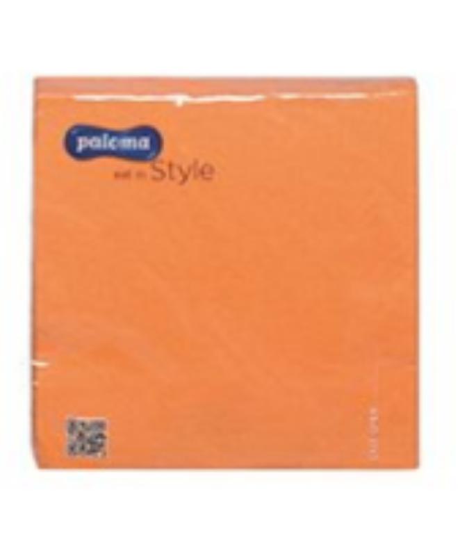 Serviete 33x33 3-sl. oranžne 17x20/1 Paloma