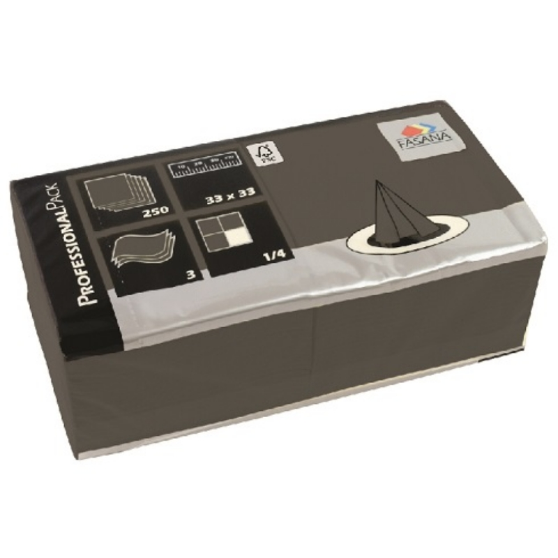 Serviete 33x33 4x250/1 Fasana elephant grey