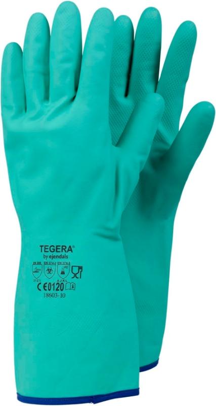 Gumijaste delovne rokavice Tegera 18603 št. 10