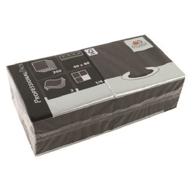 Serviete 40x40 3-sl. 4x250/1 Fasana elephant grey