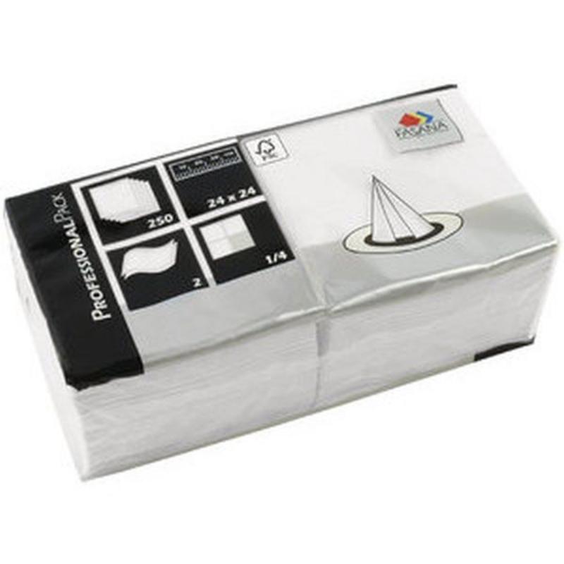 Serviete 24x24 2-sl. 6x250/1 Fasana pearl white