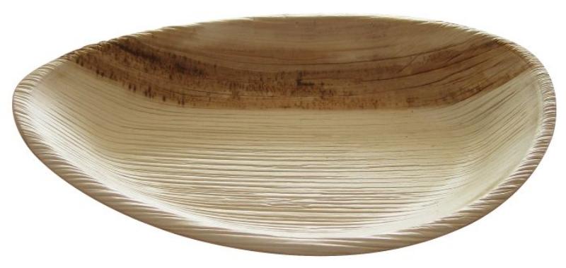 Krožnik iz palmovih listov M, ovalen