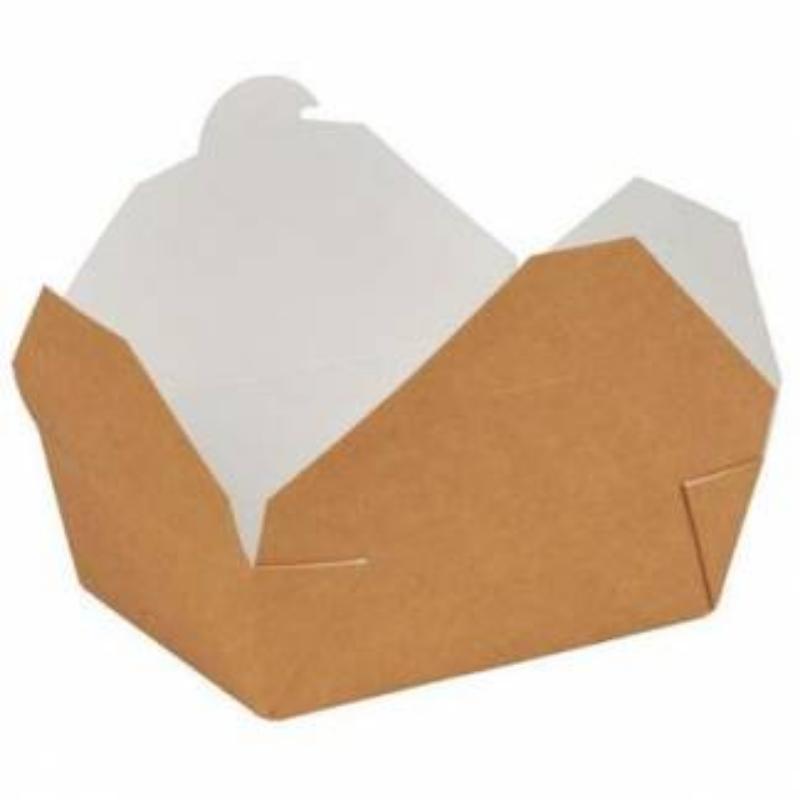Embalaža za prenos hrane iz papirja S, pravokotna