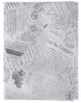 Burger vrečka iz papirja s časopisnim potiskom