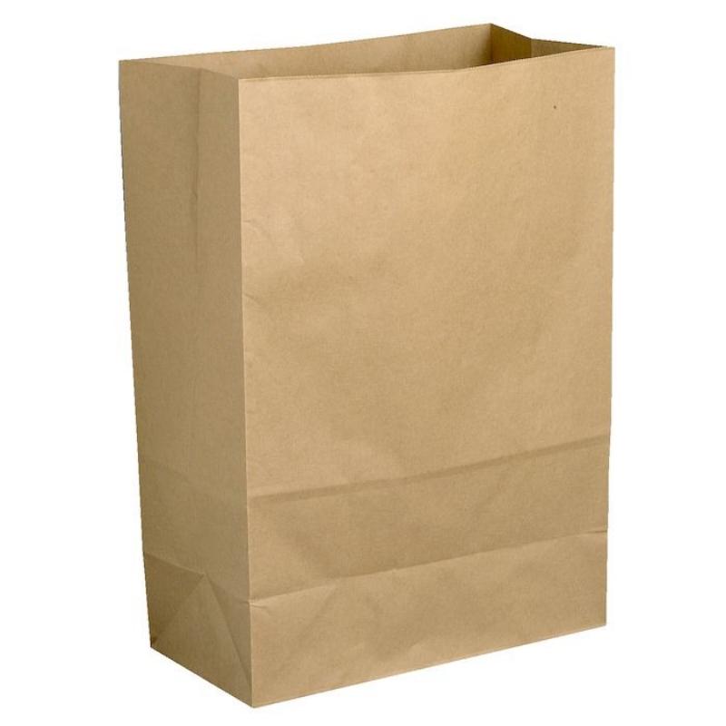Vrečka iz papirja brez držala, 6 L