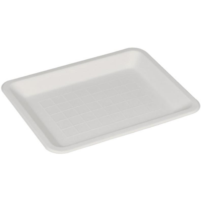 Plitev krožnik iz sladkornega trsa BIO, pravokoten, 15 x 20 cm