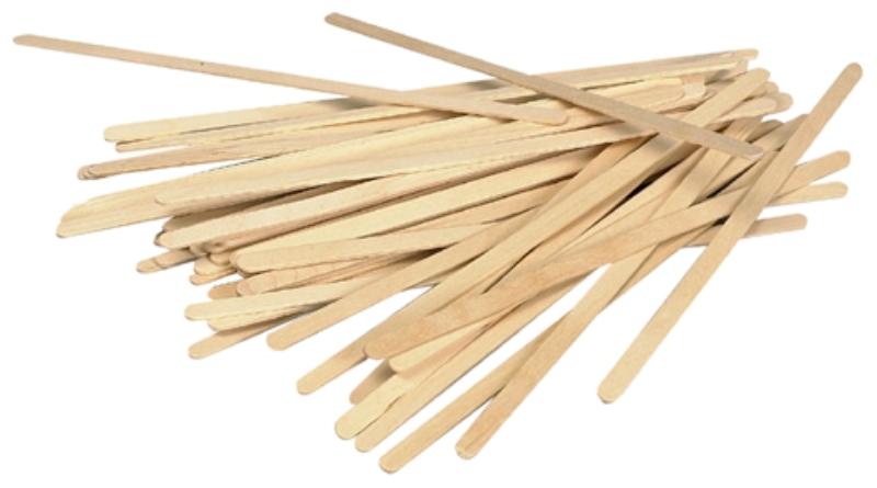 Palčke lesene 14cm 1000/1 BIO