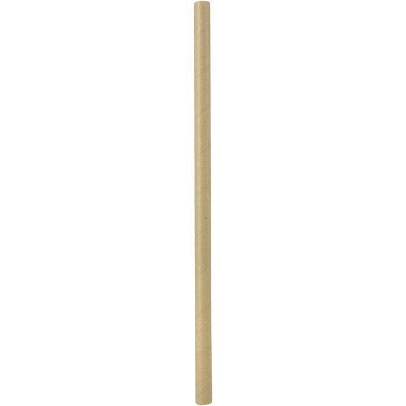 Papirnate slamice natur BIO 25cm 100/1