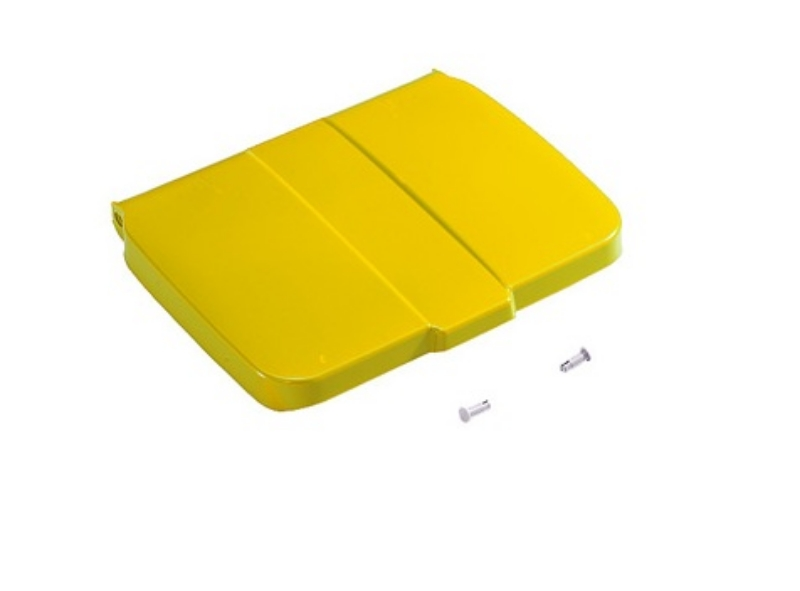 Pokrov vreče Green 120L rumen/prostor za spisek