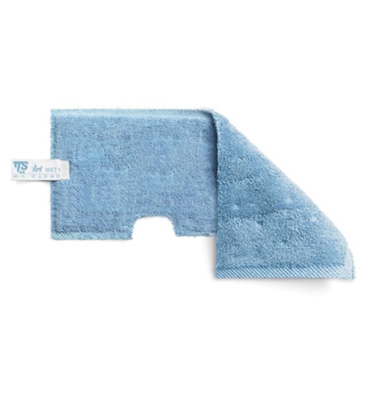 Krpa za trapezno brisalo za mokro čiščenje Velcro modra 30 cm, TTS