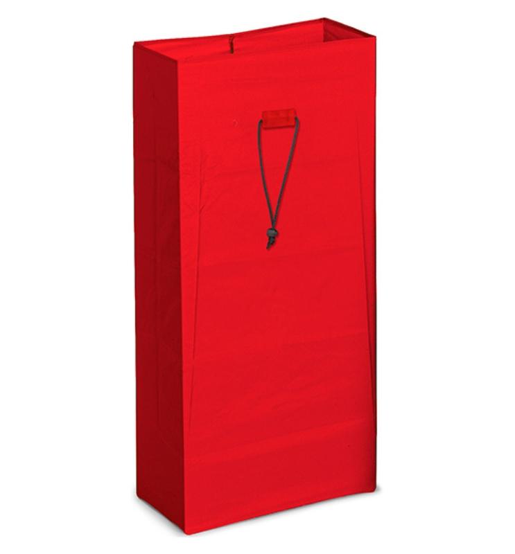 Vreča plastificirana 120L rdeča