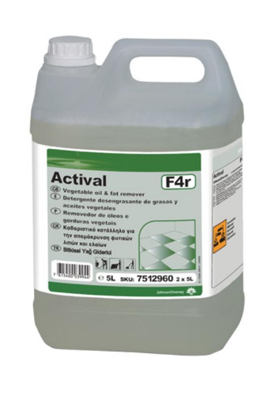 Taski Actival 2x5L-za odstr.rastl.maščob