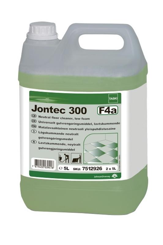 Čistilo za čiščenje talnih površin, Taski Jontec 300, 5L, DIVERSY
