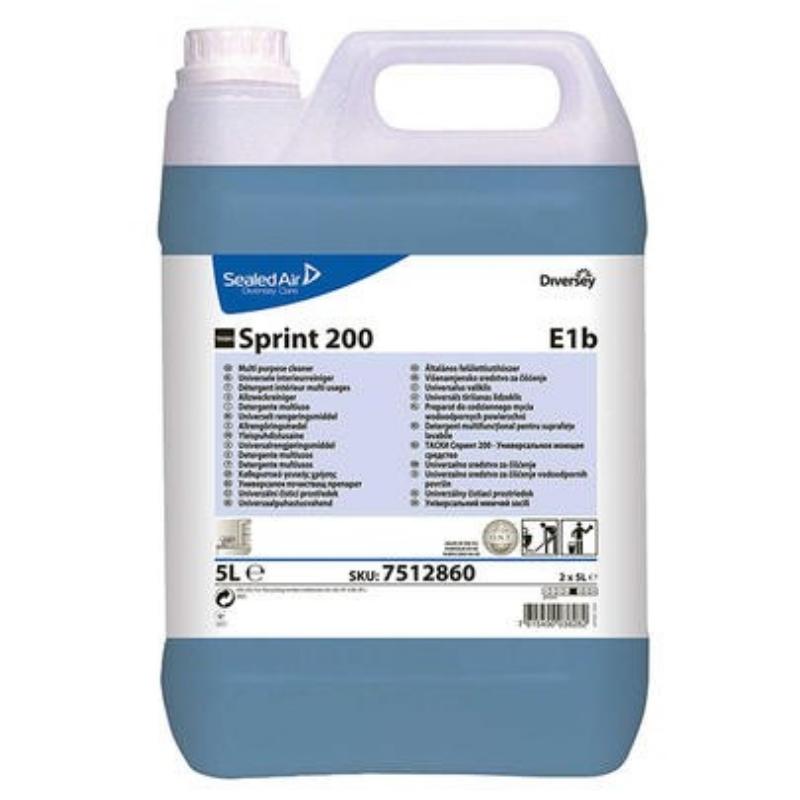 Čistilo za čiščenje površin Taski Sprint 200 2x5L, DIVERSY