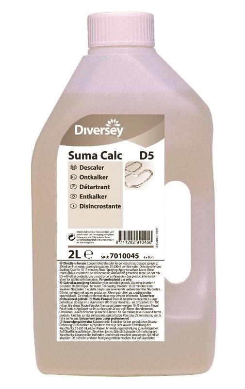 Taski Suma D5 Calc 6x2L sredstvo za odstranjevanje vodnega kamna