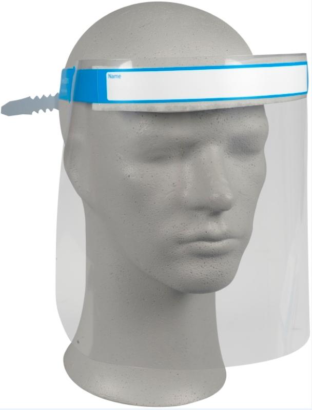 Obrazni vizir za zaščito obraza
