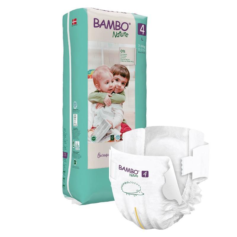 Plenice Bambo Nature MAXI 4 7-14kg 48/1